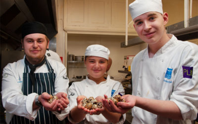 'Devon food heroes' gather at Kitley to inspire the next generation of South-West hospitality pros.