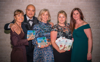 GOLD AND SILVER FOR KITLEY HOUSE HOTEL IN DEVON TOURISM AWARDS