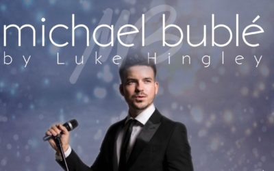 3 course Dinner and Luke Hingley as Michael Buble