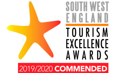 We've been Commended in the South West Tourism Awards
